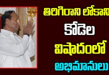 Kodela Siva Prasada Rao Is No More